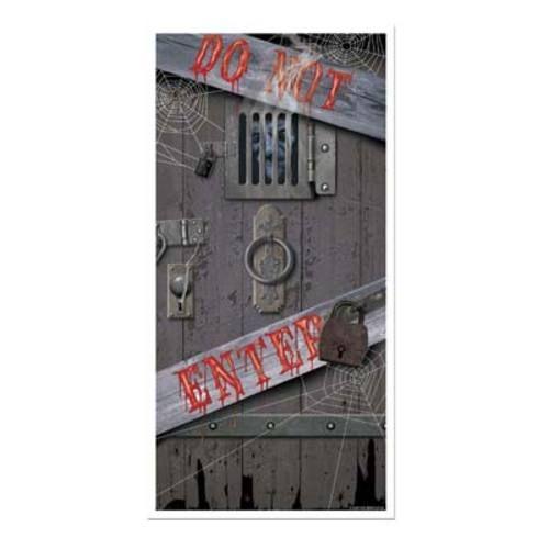 Spooky Halloween Door Cover