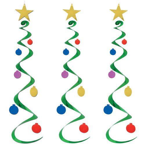 Christmas Tree Whirls