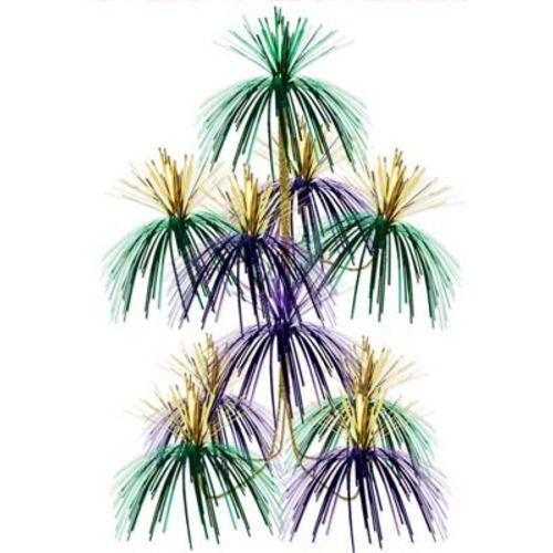 Mardi Gras Fireworks Chandelier