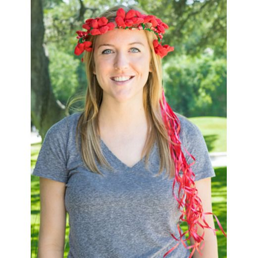 Cinco de Mayo Hats & Headwear Red Flower Crown Image