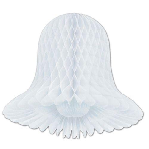 """9"""" White Tissue Bell"""