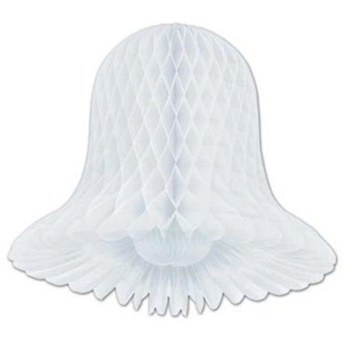 """15"""" White Tissue Bell"""