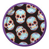 Day of the Dead Table Accessories DOD Web Dessert Plates Image