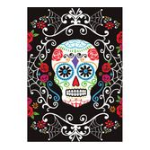 Day of the Dead Table Accessories Sugar Skull Plastic Table Cover Image