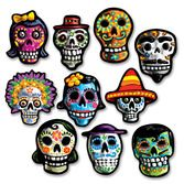 Day of the Dead Decorations Mini DOD Cutouts Image