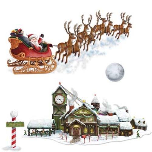 Santa Sleigh /Workshop Props