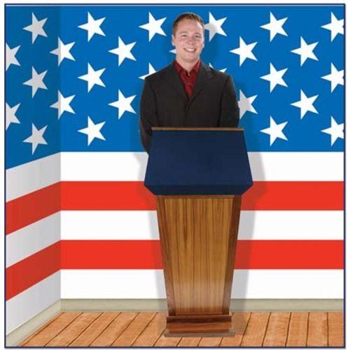 Patriotic Stars Backdrop