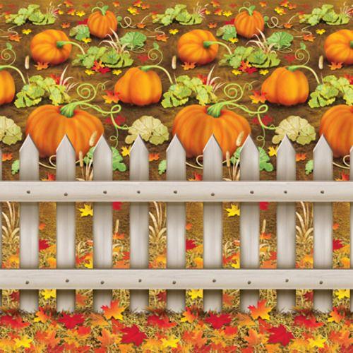 Pumpkin Patch Backdrop