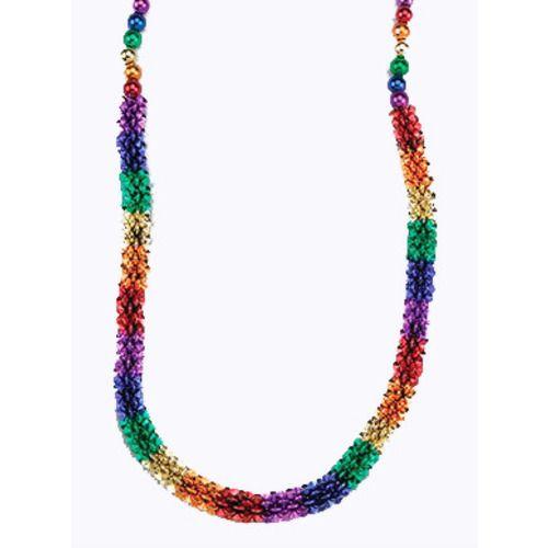 Rainbow Flower Beads Necklace
