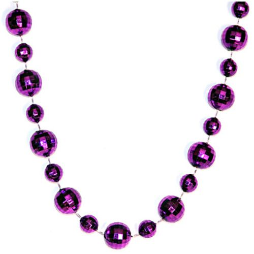 Assorted Mirror Ball Necklace