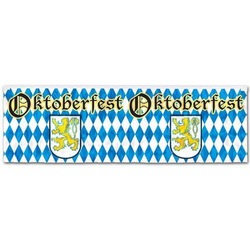 Metallic Oktoberfest Banner