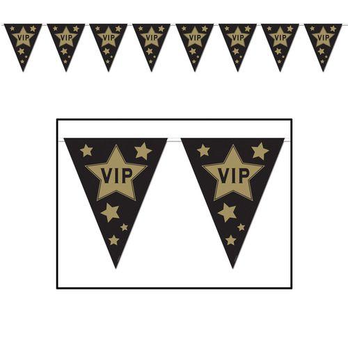 VIP Pennant Banner