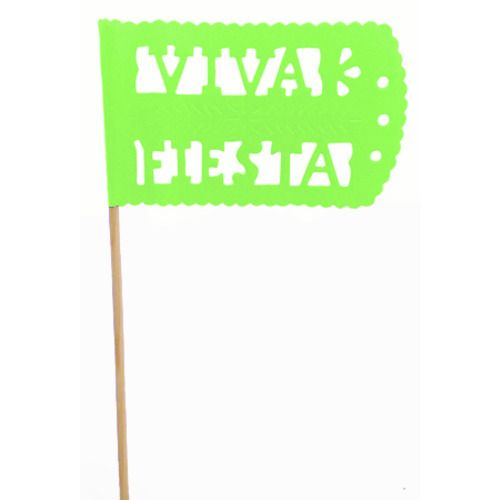 Light Green Fiesta Flag