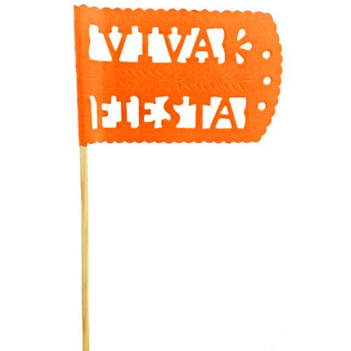 Orange Fiesta Flag