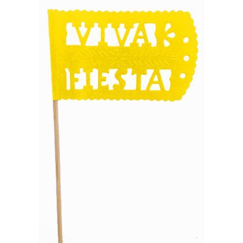 Yellow Fiesta Flag