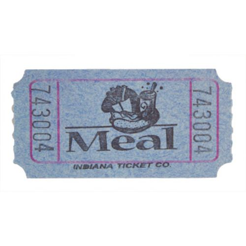 Blue Meal Ticket Roll