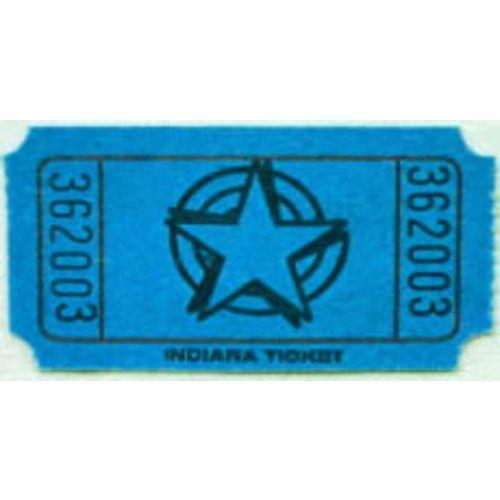 Blue Star Ticket Roll