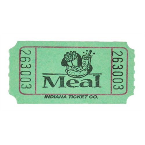 Green Meal Ticket Roll