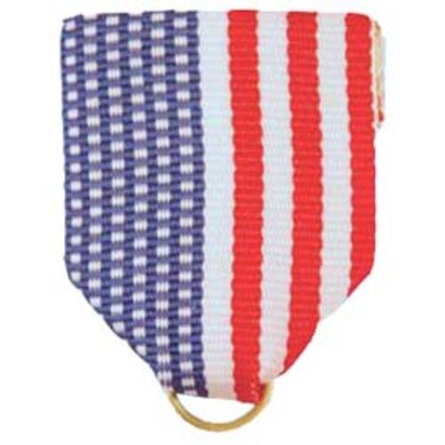 U.S.A. Flag Ribbon Drape