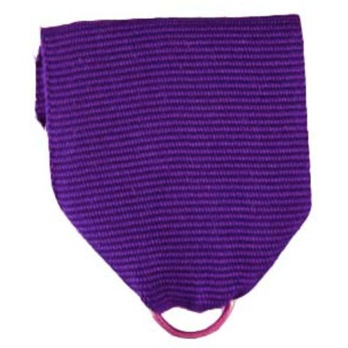 Purple Ribbon Drape