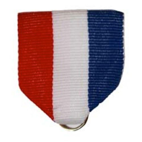 Red, White, and Blue Ribbon Drape