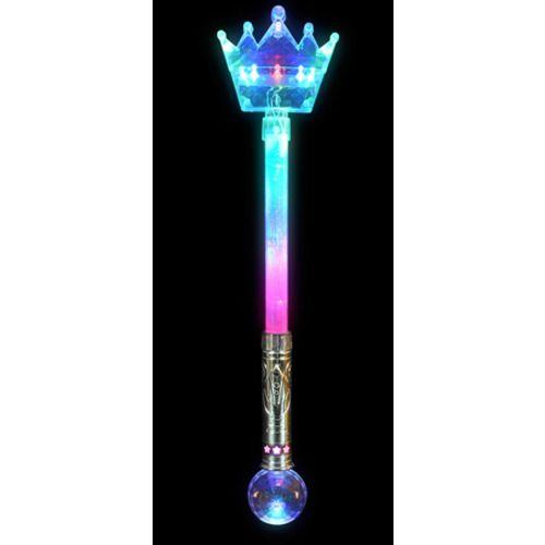 Light Up Crown Magic Wand