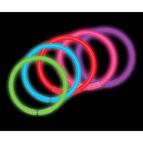 Assorted Color Glow Bracelets