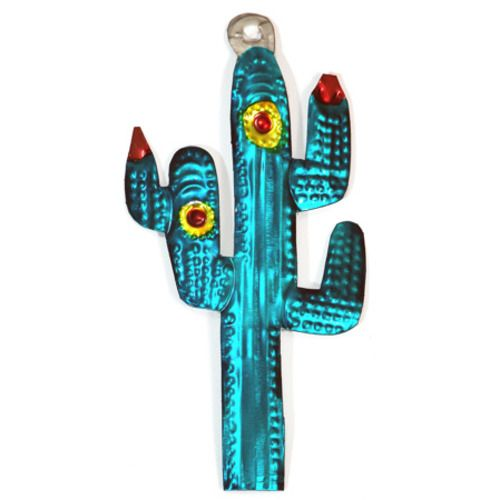 Sagauro Cactus Tin Ornament