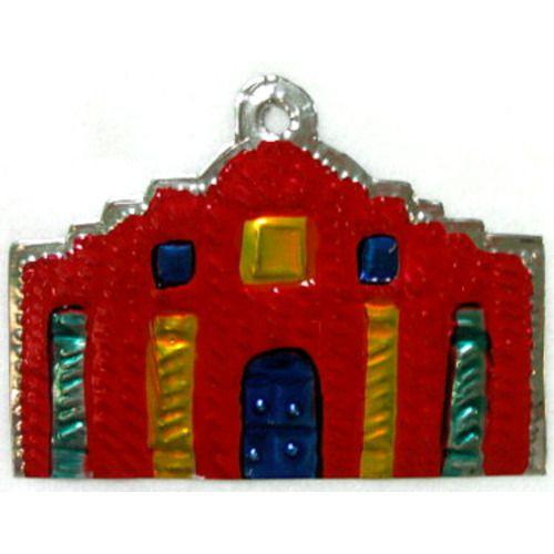 Alamo Tin Ornament