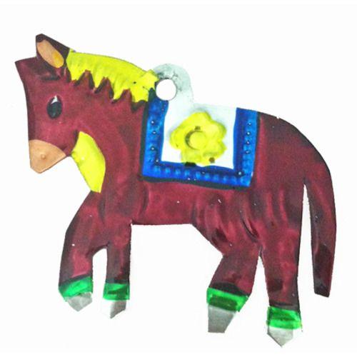 Horse Tin Ornament
