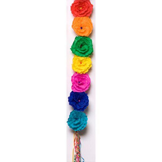 Cinco de Mayo Decorations Lisa's Multi-Color Flower Swag Image