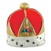 Mardi Gras Hats & Headwear Queen's Plush Crown Image