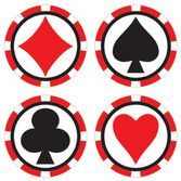 Casino Table Accessories Casino Coasters Image