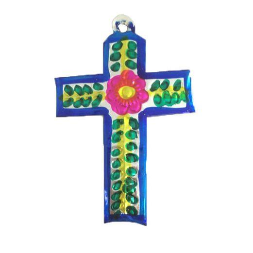 Cinco de Mayo Decorations Cross Tin Ornament Image