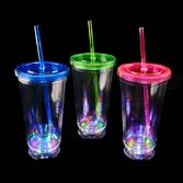 Glow Lights LED Plastic Tumbler Image