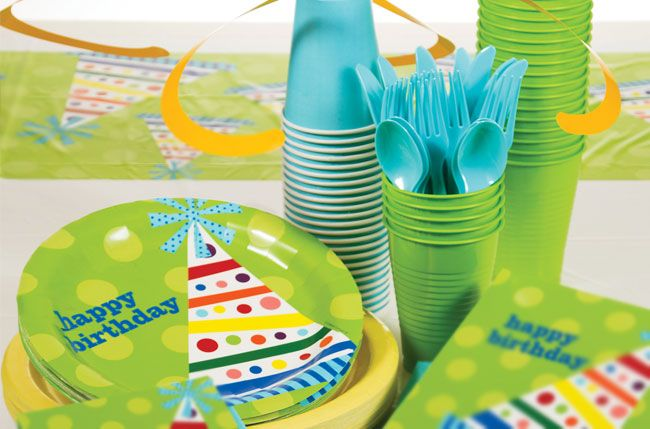 Birthday Party Supplies At Amols Fiesta