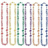 Birthday Party Party Wear Happy Birthday Bead Necklaces Image