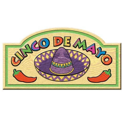 Cinco de Mayo Decorations Cinco De Mayo Sign Image