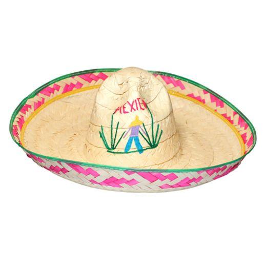 Cinco de Mayo Hats & Headwear Child's Poncho Villa Sombrero Image