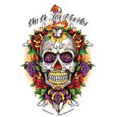 Day of the Dead Favors & Prizes Day of the Dead Dagger Skull Sticker Image