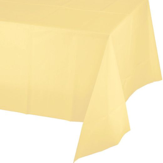 Rectangular Table Cover Yellow