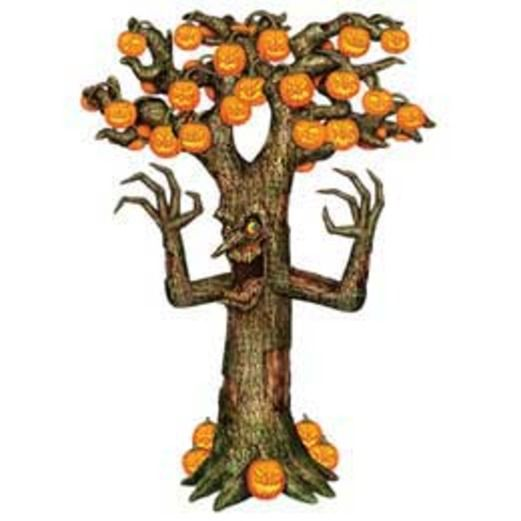 Halloween Decorations Giant Spooky Tree Cutout Image