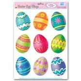 Easter Decorations Easter Egg Clings Image