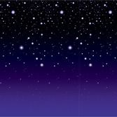 Decorations / Scenes & Props Starry Night Backdrop Image