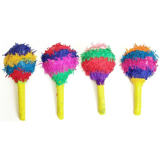 Cinco de Mayo Decorations Mini Maraca Pinata Image