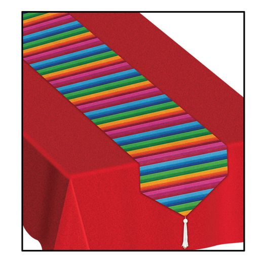 Fiesta Table Accessories Serape Table Runner Image