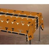 Sports Table Accessories Texas Longhorn Plastic Table Cover Image