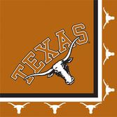 Sports Table Accessories Texas Lunch Napkins Image