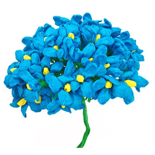 Cinco de Mayo Decorations Turquoise Terecitas Flowers Image