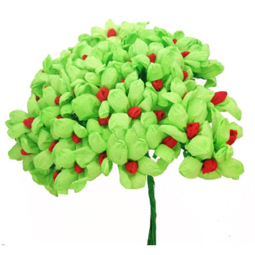 Cinco de Mayo Decorations Light Green Terecita Flowers Image